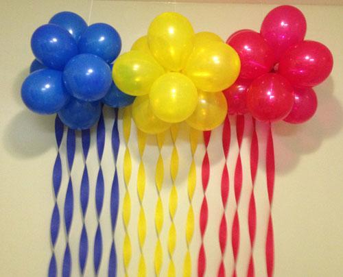 Оформление шариками своими рукам - Как украсить детский праздник? оформление